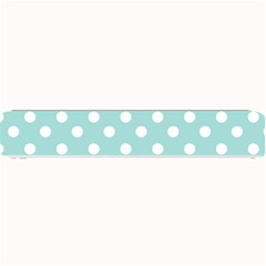 Blue And White Polka Dots Small Bar Mats