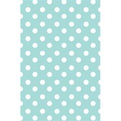 Blue And White Polka Dots 5.5  x 8.5  Notebooks