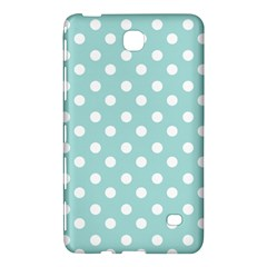 Blue And White Polka Dots Samsung Galaxy Tab 4 (7 ) Hardshell Case