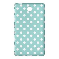 Blue And White Polka Dots Samsung Galaxy Tab 4 (8 ) Hardshell Case