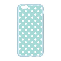 Blue And White Polka Dots Apple Seamless iPhone 6 Case (Color)