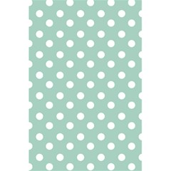 Light Blue And White Polka Dots 5 5  X 8 5  Notebooks