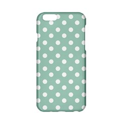 Light Blue And White Polka Dots Apple iPhone 6/6S Hardshell Case