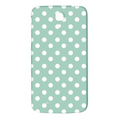Light Blue And White Polka Dots Samsung Galaxy Mega I9200 Hardshell Back Case