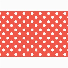 Indian Red Polka Dots Collage 12  X 18
