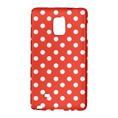 Indian Red Polka Dots Galaxy Note Edge