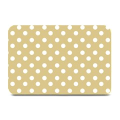 Mint Polka And White Polka Dots Plate Mats
