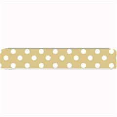 Mint Polka And White Polka Dots Small Bar Mats