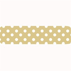 Mint Polka And White Polka Dots Large Bar Mats