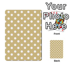 Mint Polka And White Polka Dots Multi-purpose Cards (Rectangle)