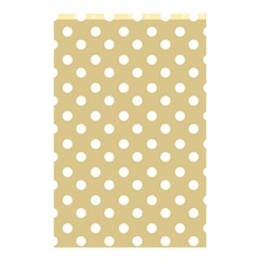 Mint Polka And White Polka Dots Shower Curtain 48  x 72  (Small)