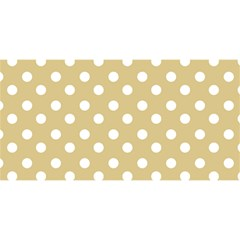 Mint Polka And White Polka Dots YOU ARE INVITED 3D Greeting Card (8x4)