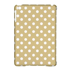 Mint Polka And White Polka Dots Apple Ipad Mini Hardshell Case (compatible With Smart Cover)