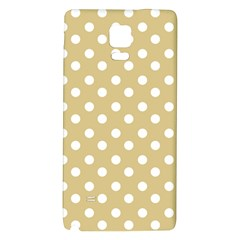 Mint Polka And White Polka Dots Galaxy Note 4 Back Case