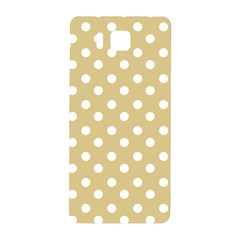 Mint Polka And White Polka Dots Samsung Galaxy Alpha Hardshell Back Case