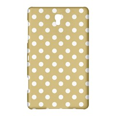 Mint Polka And White Polka Dots Samsung Galaxy Tab S (8.4 ) Hardshell Case