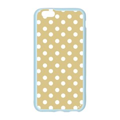 Mint Polka And White Polka Dots Apple Seamless iPhone 6 Case (Color)
