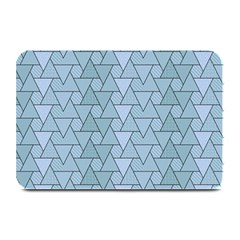 Geo Fun 7 Light Blue Plate Mats