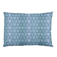 Geo Fun 7 Light Blue Pillow Cases (two Sides)