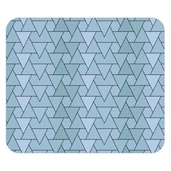 Geo Fun 7 Light Blue Double Sided Flano Blanket (Small)