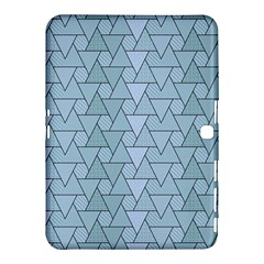 Geo Fun 7 Light Blue Samsung Galaxy Tab 4 (10.1 ) Hardshell Case