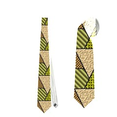Geo Fun 7 Warm Autumn  Neckties (Two Side)