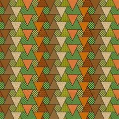 Geo Fun 7 Warm Autumn  Magic Photo Cubes