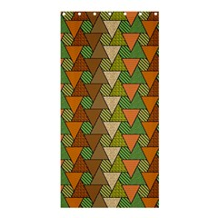 Geo Fun 7 Warm Autumn  Shower Curtain 36  X 72  (stall)