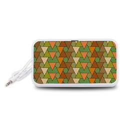 Geo Fun 7 Warm Autumn  Portable Speaker (White)