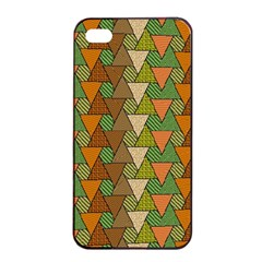Geo Fun 7 Warm Autumn  Apple iPhone 4/4s Seamless Case (Black)