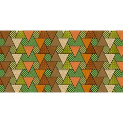 Geo Fun 7 Warm Autumn  YOU ARE INVITED 3D Greeting Card (8x4)