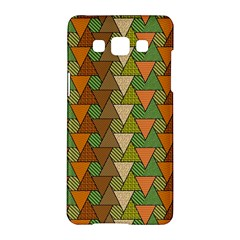 Geo Fun 7 Warm Autumn  Samsung Galaxy A5 Hardshell Case