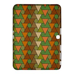 Geo Fun 7 Warm Autumn  Samsung Galaxy Tab 4 (10 1 ) Hardshell Case