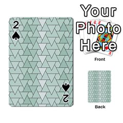 Geo Fun 7 Playing Cards 54 Designs