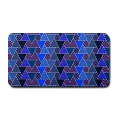 Geo Fun 7 Inky Blue Medium Bar Mats