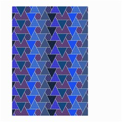 Geo Fun 7 Inky Blue Small Garden Flag (two Sides)