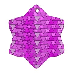 Geo Fun 7 Ornament (Snowflake)