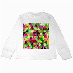 Geo Fun 07 Kids Long Sleeve T Shirts