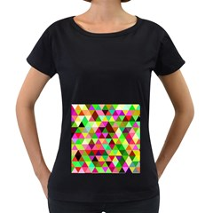 Geo Fun 07 Women s Loose Fit T Shirt (black)