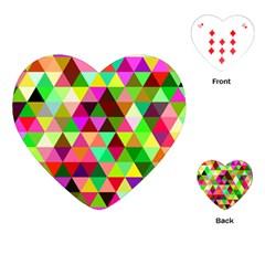 Geo Fun 07 Playing Cards (heart)