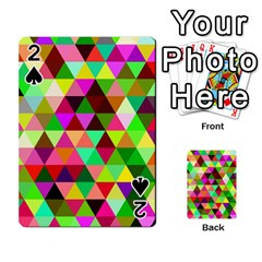Geo Fun 07 Playing Cards 54 Designs