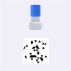Geo Fun 07 Rubber Round Stamps (small)