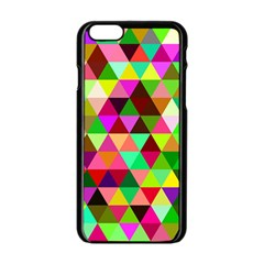 Geo Fun 07 Apple Iphone 6 Black Enamel Case