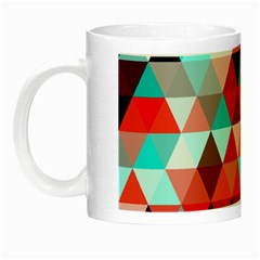 Geo Fun 07 Red Night Luminous Mugs