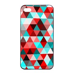 Geo Fun 07 Red Apple iPhone 4/4s Seamless Case (Black)