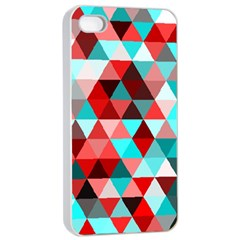 Geo Fun 07 Red Apple Iphone 4/4s Seamless Case (white)