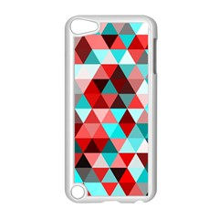 Geo Fun 07 Red Apple Ipod Touch 5 Case (white)