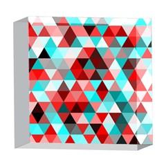 Geo Fun 07 Red 5  x 5  Acrylic Photo Blocks