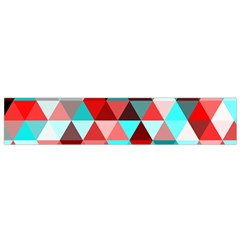 Geo Fun 07 Red Flano Scarf (small)