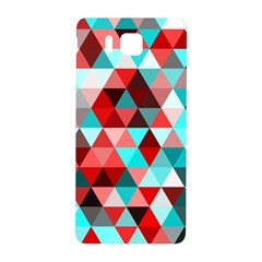 Geo Fun 07 Red Samsung Galaxy Alpha Hardshell Back Case